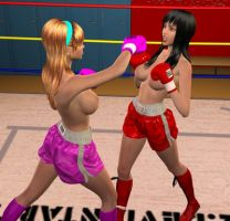 Nicole vs Lilly 010 by chuy9502