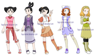 Pokemon Princesses 7 by Hapuriainen