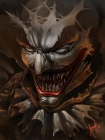 clown (speed paint) by wizyakuza