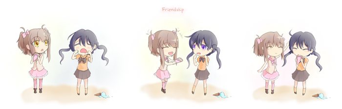 Friendship by TouhouSuki