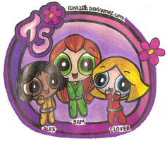 PPG: Totally Spies by rina224