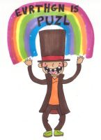 barely literate layton by finnodair