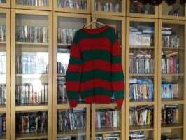 Freddy Krueger Sweater by Xx-tangerine-xX
