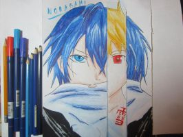 [Noragami] Yato and Yukine by SnowDragon-san