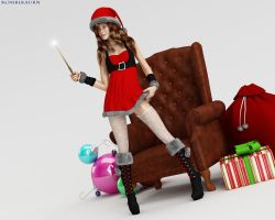 Holiday Hermione 1 by kombl