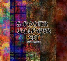5 poster wallpaper set by master-deus