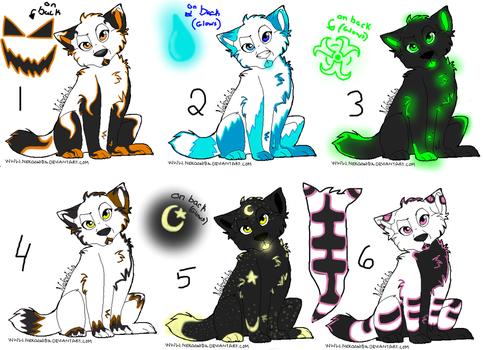 Adoptables by SexyKilala