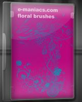 E-maniacs floral brushes by Radyb