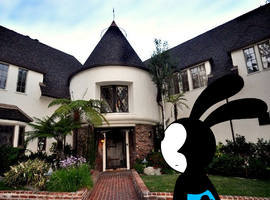 Oswald sees Walt Disney's old house by SuperMarcosLucky96