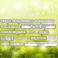 Resources Pack #12 by zeynxx