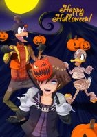 Happy Halloween! KH by SakuraYagami