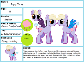 Topsy Turvy bio ~FOR ADOPTION~ by Chaosclaw-Kitty