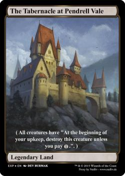 MTG - Altered FulThe Tabernacle at Pendrell Vale by Nedliv