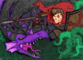 Philip and the Dragon by losergirl87