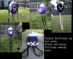 Drifloon plush by WakingToADream