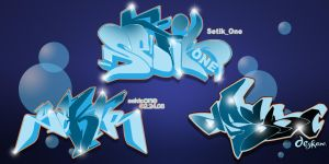 The Three: deep sea style by Graffitiminded