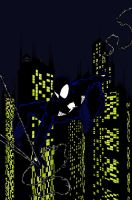 Spidey in the City by JohnPrisk