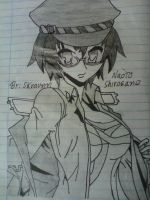 Sketchbook Vol. 2: Naoto Shirogane by Skraunn