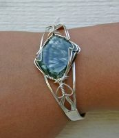 Angel  Bracelet by amazonite