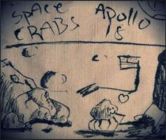 Apollo 18 Space Crabs by Satanizmihomedog