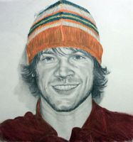 Jared Padalecki and his beautiful orange hat... by Anita-Sanderson