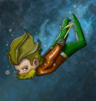 Aquaman by FischHead