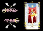 Sailor Moon Tarot Card--Justice by KinnoHitsuji