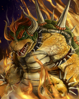 Deadly Bowser by hyperpiston