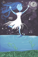 Doodle: Dancing in the Moonlight by FeatheredSoap
