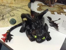 Toothless by howlingwolfie