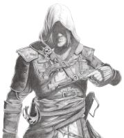 Assassin's Creed Black Flag ~ Edward Kenway by adarkworldfantasy