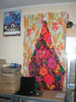 70's Curtains by pretending2bme