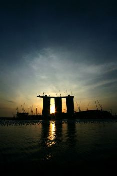 The Last Sunrise For 2009 by LethalVirus