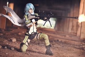 Sinon by Shazzsteel