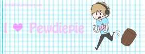 Pewdiepie timeline cover! by Brittani752