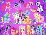 MLP Background YP by YuiRainbowStar