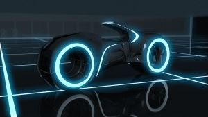 WIP Tron Legacy Lightcycle by fuckiller