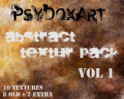 Abstract Textur Pack Vol. 1 by PsyDoxArt