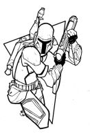 Boba Fett by FranchiFabio