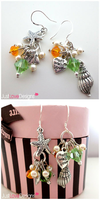 Beach Charms Earring by jujubes