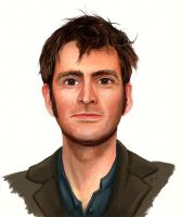 Tennant - Doctor Who by Olooriel