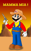 Mario the cowboy by ZeFrenchM