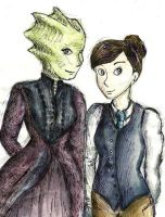 Vastra and Jenny by Riddikulus-Grin