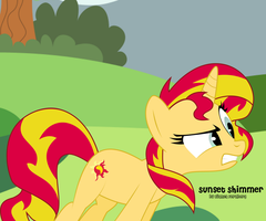 Sunset Shimmer Request by oOBrushstrokeOo