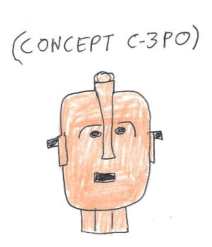 CONCEPT C3PO (Star Wars) by dth1971