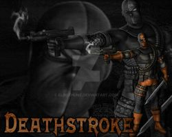 Deathstroke by Eloozhunz