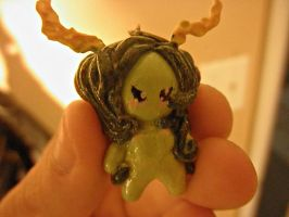 Forestsprite Chibi Charm (pic 3 of 3) by TheGhostlyPoet