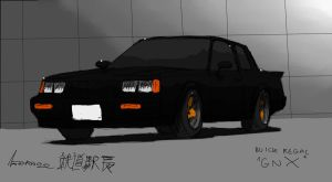 Black GNX by ngarage