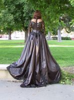 Black Ballgown Terra 10 by Falln-Stock