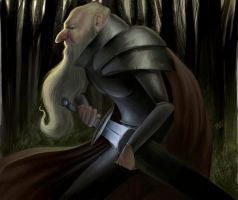 Old Knight by MikeAzevedo